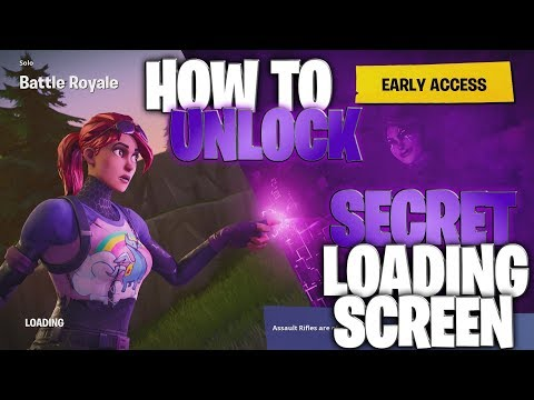 "How To Unlock The SECRET #10 ""Dark Bomber"" Loading Screen! (Hidden Road Trip #10 Loading Screen)"