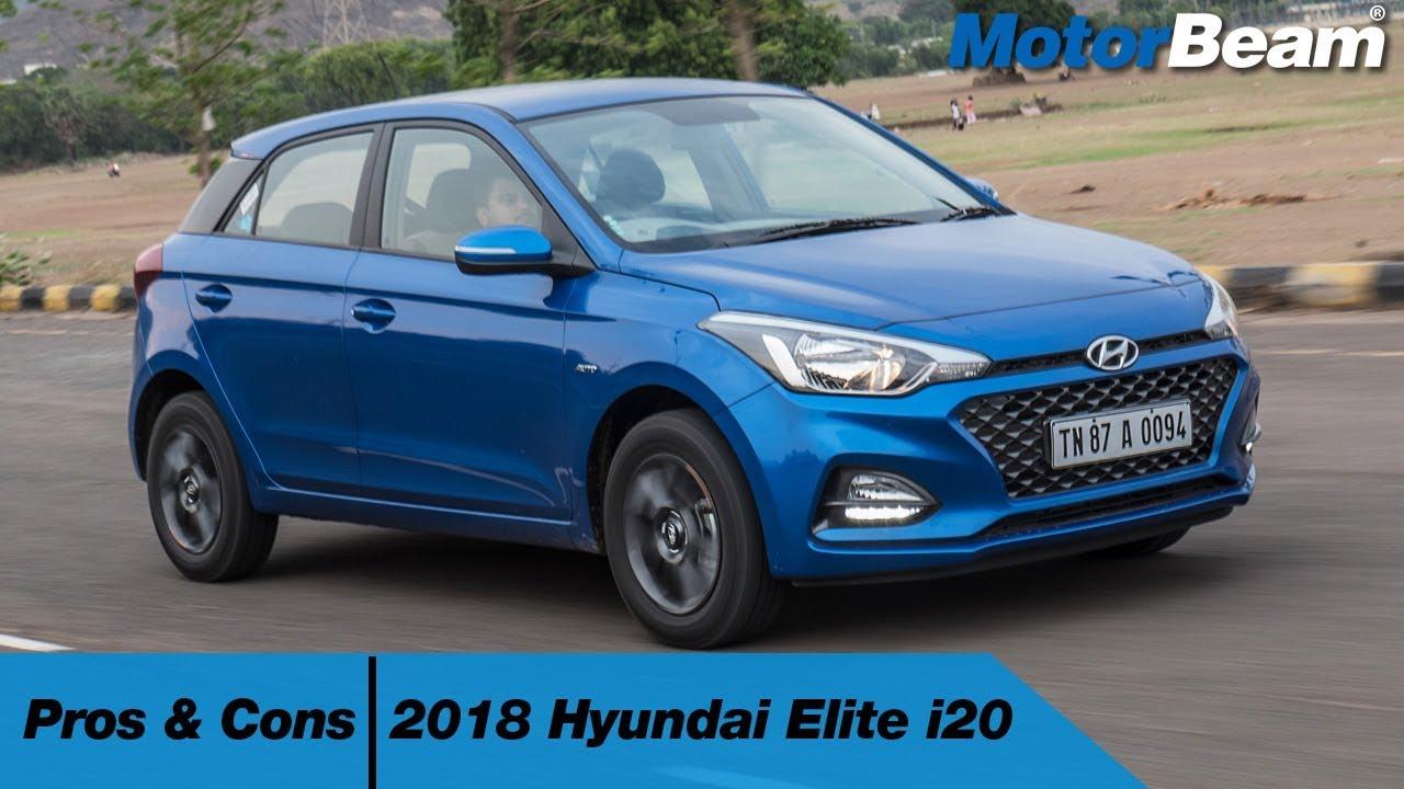 2018 Hyundai Elite I20 Pros Cons