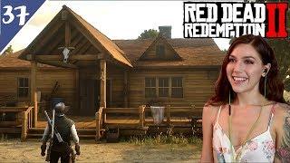 Visiting Arthur & Building a House! | Red Dead Redemption 2 Pt. 37 | Marz Plays