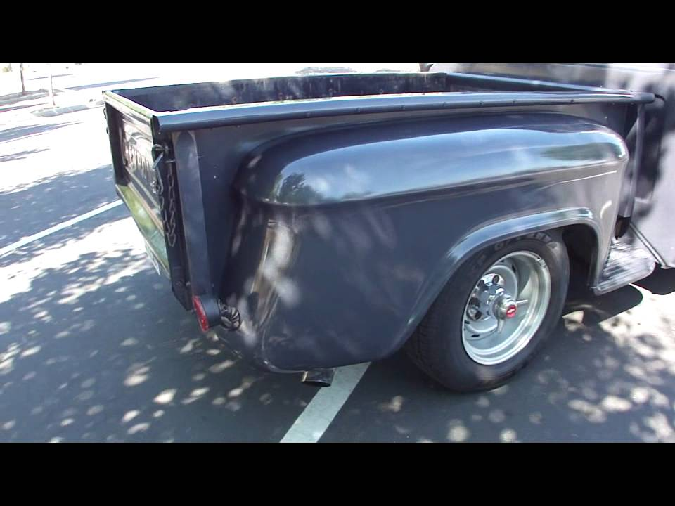 Chevy Muscle Cars >> 1965 Chevy C10 Stepside in Petaluma Classic muscle truck - YouTube