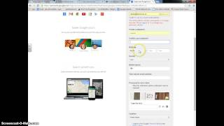 Creating a Google Account with an Existing Email Address