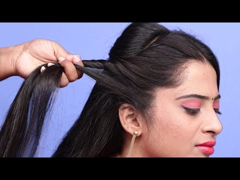 Most Beautiful hairstyles for occasion or wedding || Trendy hairstyle ||New Hairstyle