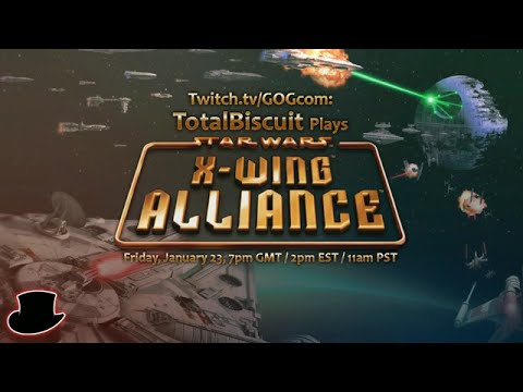 Jan 23, 2015: GOG Classics TotalBiscuit plays STAR WARS™ X Wing Alliance Now Available on GOG com!