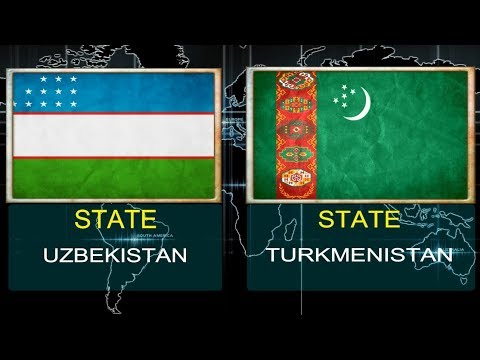 UZBEKISTAN VS TURKMENISTAN -  Military Power Comparsion 2018