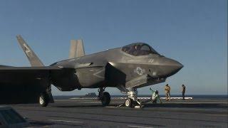 F-35C Lightning II Conducts Developmental Testing aboard USS Nimitz