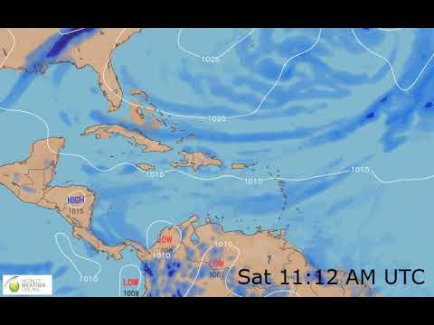 Caribbean Weather Map Live.Caribbean Weather Forecast Hd 14 Mar 2019 Updated At 0000 Hours