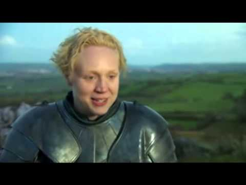 Gwendoline Christie GOT Interview laugh (Original)