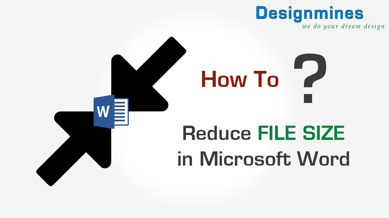 Compress Image Size To Reduce File In Word 2007