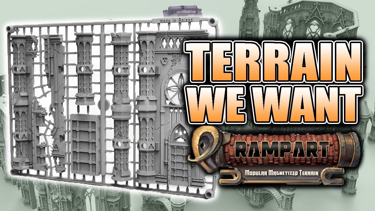 Next Big Thing For Miniature Terrain: Rampart Review