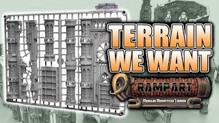 The Next Big Thing For Miniature Terrain: Rampart
