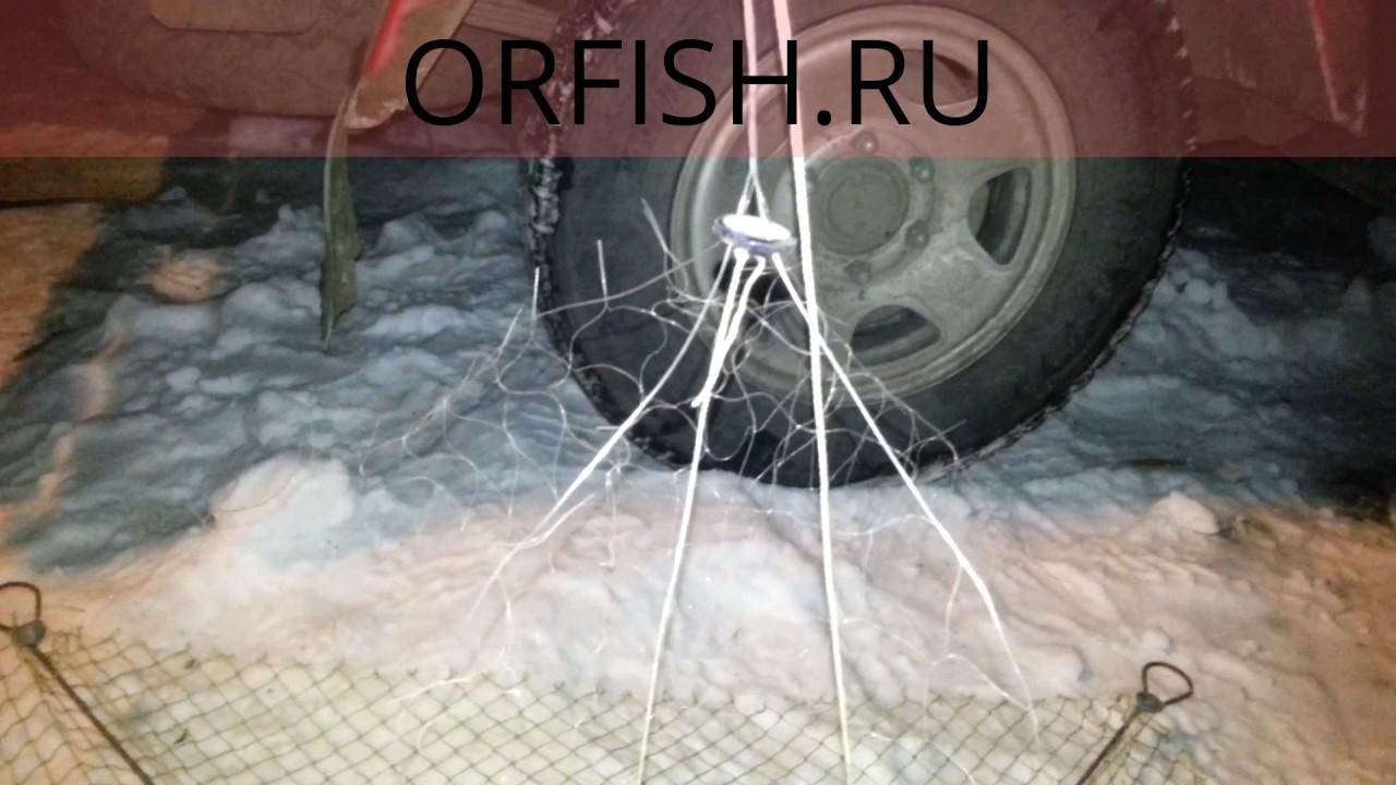 Рыбалка на Дону пауком - YouTube