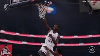 Andrew Wiggins Gets an And1 Dunk! | NBA 2018-2019 Season: MIN@NO | NBA LIVE 19 -New Year