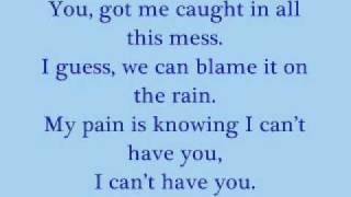 Blame it on the Rain - He is we Karaoke / instrumental