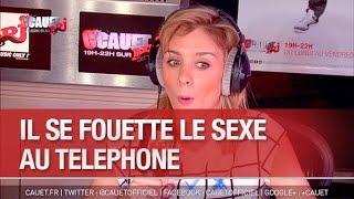 Il se fouette le sexe au téléphone en direct - C'Cauet sur NRJ