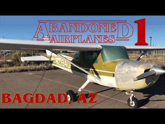 Abandoned Airplanes: Bagdad Airport, Arizona, Season 1, Pilot Episode