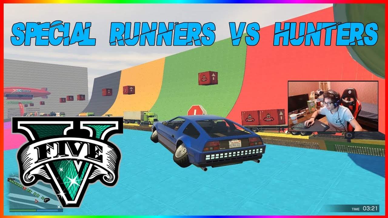 Special Runners vs. Hunters | GTA 5 Online ქართულად