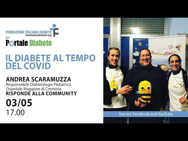 Il Diabete al Tempo del Covid19 | 03.05.2020