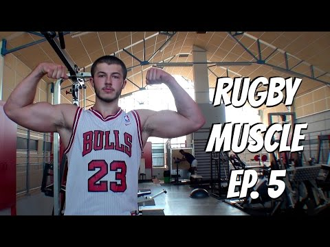 Rugby Muscle: How I Train for Rugby During the Season | Episode 5