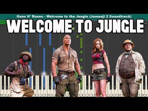 Welcome to the Jungle Piano Tutorial - Guns N' Roses (Jumanji 2 Soundtrack)