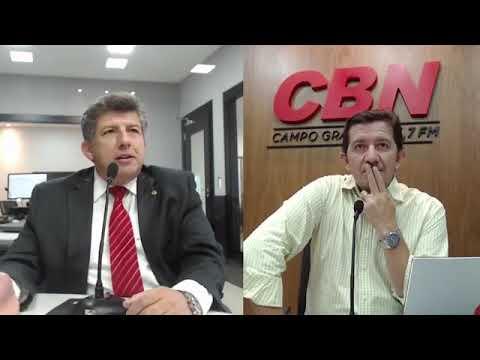 Entrevista CBN Campo Grande: Lídio Lopes, deputado estadual