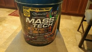 Muscletech Mass Tech Extreme 2000 Review