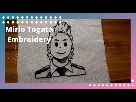 Mirio Togata - Embroidery