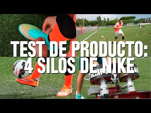 Test de producto en Roma: 4 silos de Nike