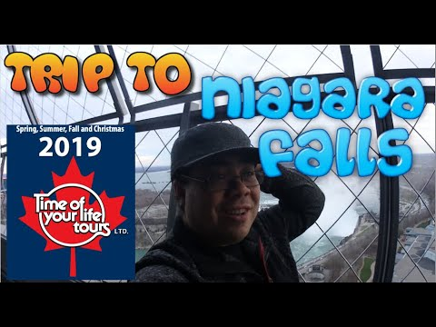 My Bus Trip To Niagara Falls - 2019