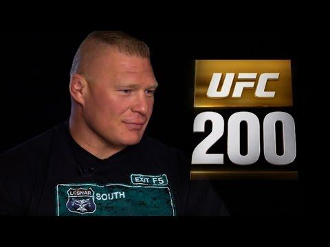 BROCK LESNAR OPENS UP TO PAUL HEYMAN ABOUT UFC 200