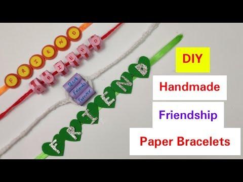DIY Friendship Bracelets: Friendship Band for Friendship Day 2019,How to make bracelet/belt at home