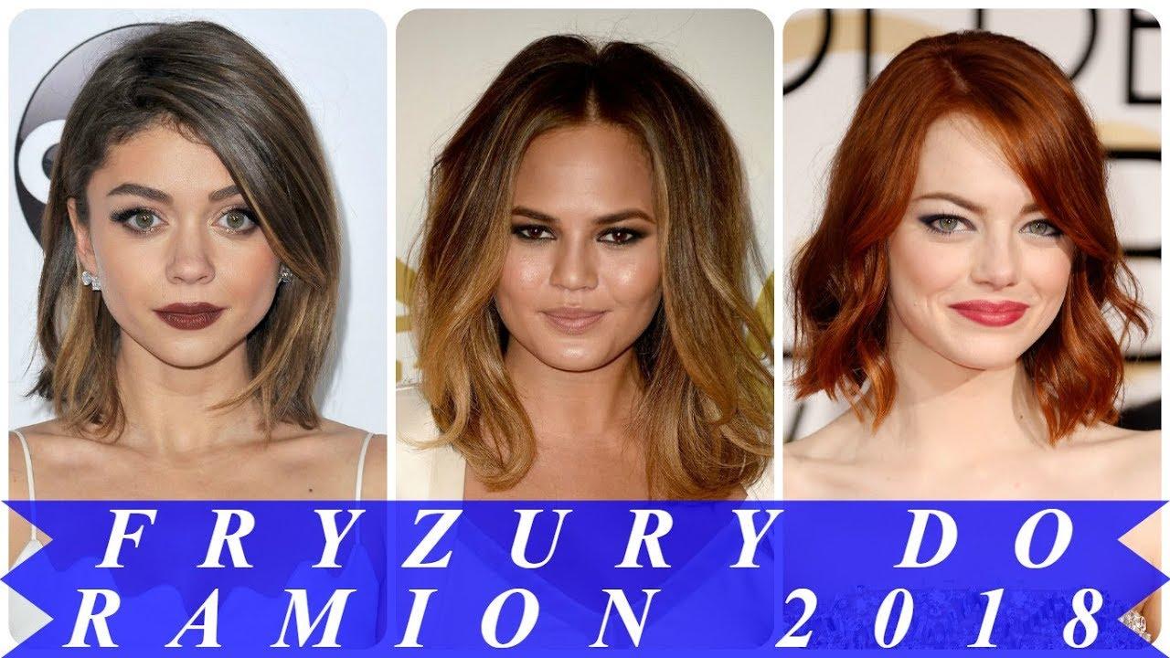 Nowoczesne Fryzury Z Włosów Do Ramion 2018