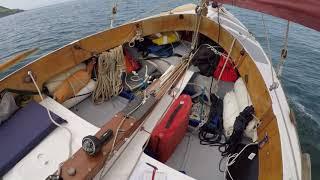 Dinghy cruising a John Welsford 'navigator' Part three 'Trying to reach Duke Rock Buoy'