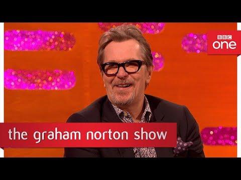 Gary Oldman's Winston Churchill dance moves - The Graham Norton Show: 2017 - BBC One