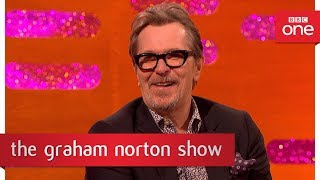 Gary Oldman's Winston Churchill dance moves - The Graham Norton Show: 2017 - BBC One