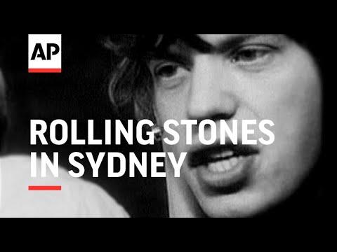 Rolling Stones in Sydney - 1965