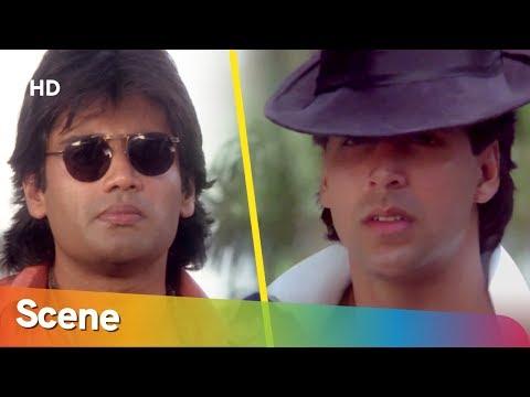 Akshay Kumar And Suniel Shetty Popular Fight Scene   Waqt Hamara Hai   Mamta Kulkarni   Action Movie