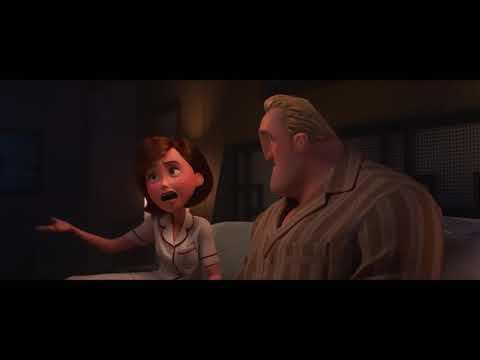 Incredibles 2 Awkward Violet With Boyfriend Trailer (2018) Disney Pixar Animated Movie HD