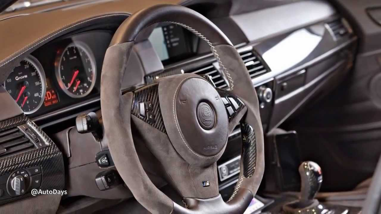Interiors 2014 G Power Bmw M5 Hurricane Rr Touring Youtube