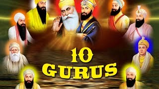 Satnam Waheguru - 10 Gurus - Kavita Seth - Waheguru Simran - Best way to learn about our Gurus