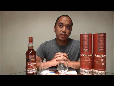 Nose2Finish GlenDronach 12 Year 2013 Bottling (18 Year) Single Malt Scotch Whisky Review/Comparison