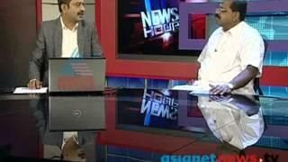 Rajmohan unnithan in asianet news hour