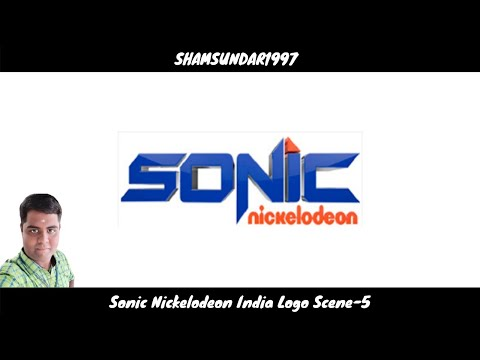 Sonic Nickelodeon India Logo Scene-5