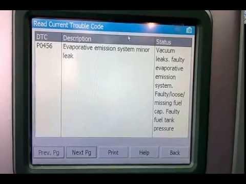 (Dodge) Evap codes P0456 and P0440 part1