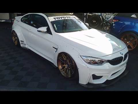 877-544-8473 20 Inch Fittapaldi FSF03 Bronze Rims BMW M4 M3 Sema Show Wheels