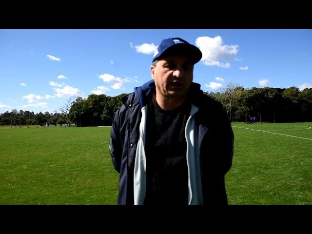 Gilmar Iser avalia rendimento da equipe em jogo-treino frente ao Grêmio