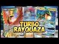 Turbo Rayquaza GX / Ho-oh EX - Pokemon TCG Online Gameplay