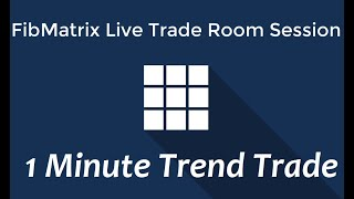 1m Trend Trades Forex Scalping Video FibMatrix Forex Day Trading Room and Scalping Software