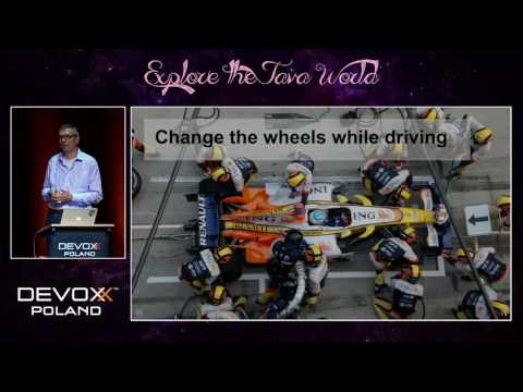 Devoxx Poland 2016 - Wolf Schlegel - Highway to heaven - Building microservices in the cloud