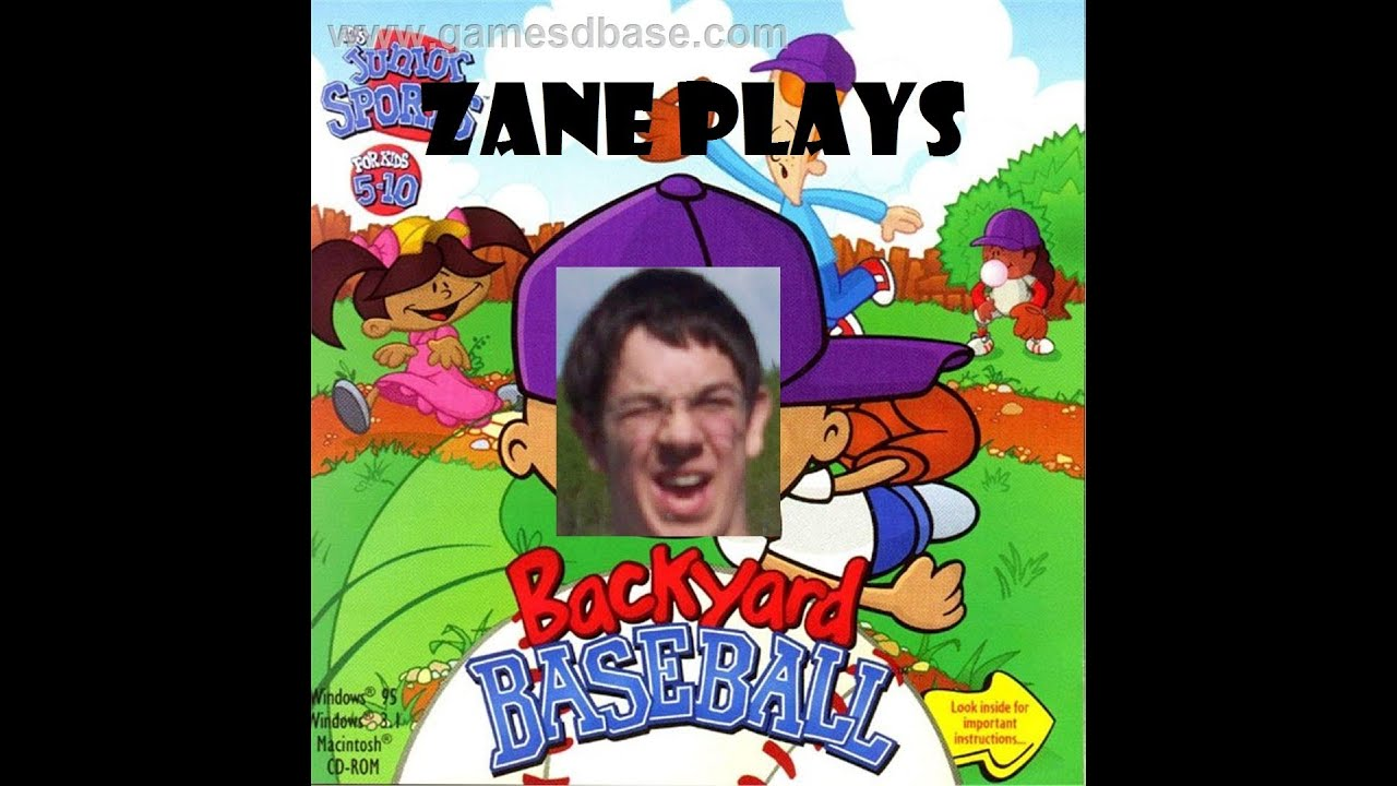 Zane Plays Backyard Baseball (1997): Episode 1
