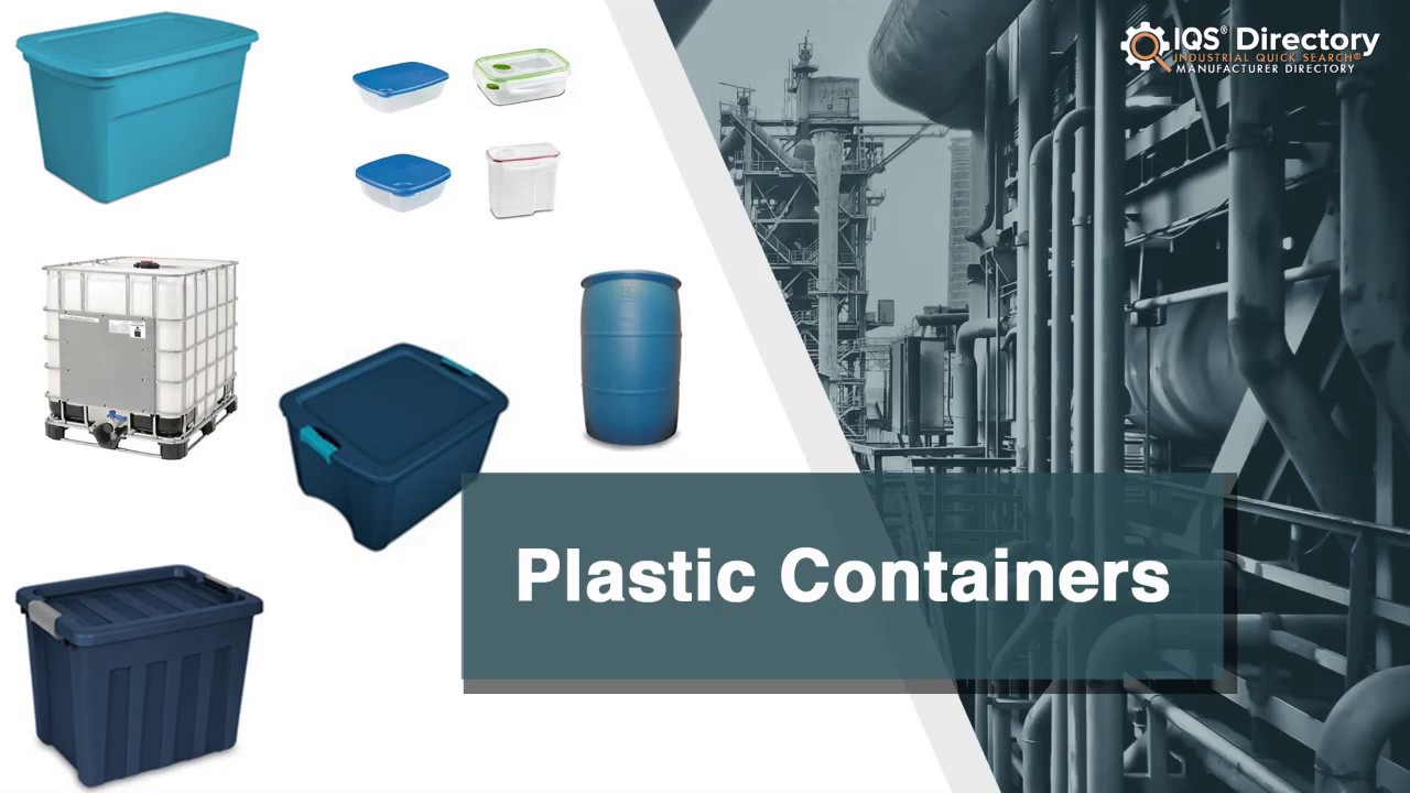Plastic Container Manufacturers Suppliers | IQS Directory